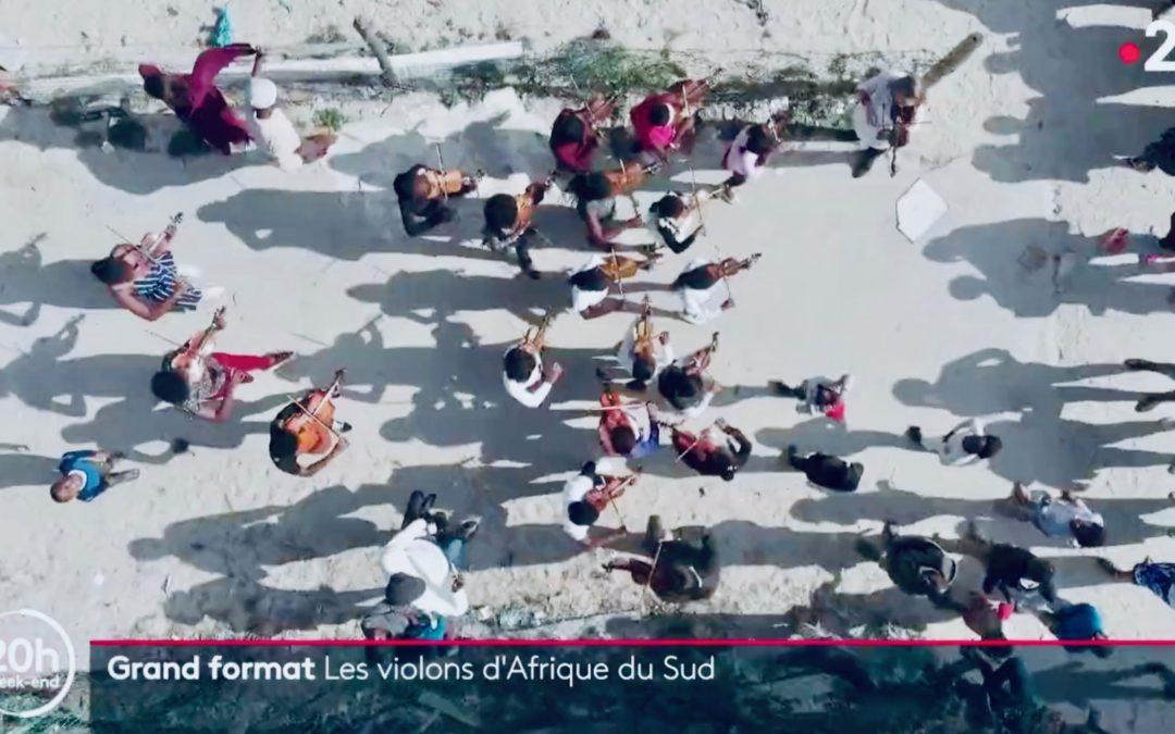 Muzukidz feature on French television news